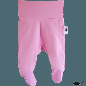 Baby Stramplerhosen, Farbe rosarot, Marke Paapii, Biobaumwolle, nachhaltig hergestellt
