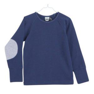 Patch Langarmshirt für Kinder aus Biobaumwolle, Marke Papu, nachhaltig hergestellt