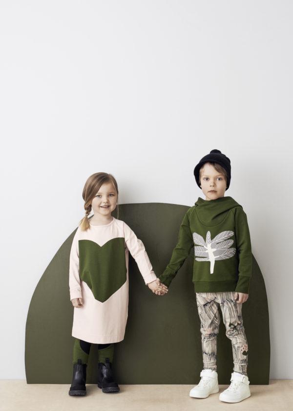 October Leggings für Kinder aus Biobaumwolle, Marke Papu, nachhaltig hergestellt