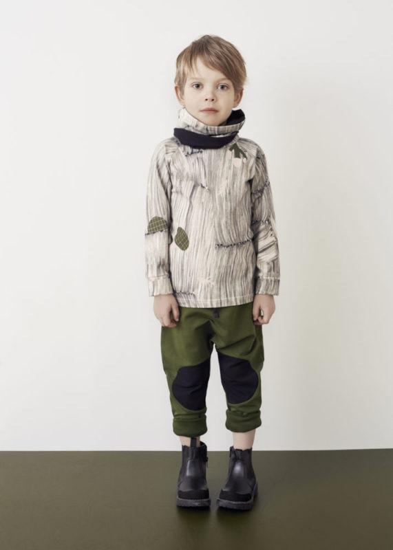October Langarmshirt für Kinder aus Biobaumwolle, Marke Papu, nachhaltig hergestellt