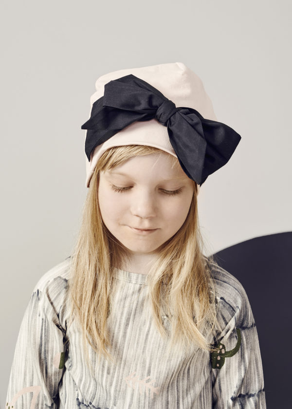 Mütze Bow, Heather Pink