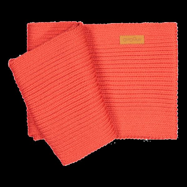 Loopschal für Babys und Kinder, Farbe rot, Marke Gugguu, nachhaltig hergestellt