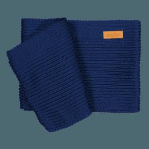 Loopschal für Babys und Kinder, Farbe dunkelblau, Marke Gugguu, nachhaltig hergestellt