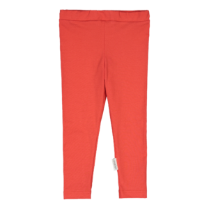 Kinder Leggings, Farbe rot, Marke Gugguu, nachhaltig hergestellt