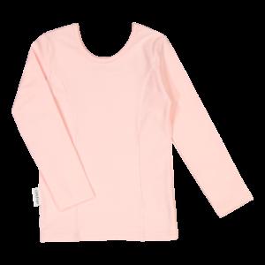 Kinder Langarmshirt Ballerina, Farbe rosarot, Marke Gugguu, nachhaltig hergestellt