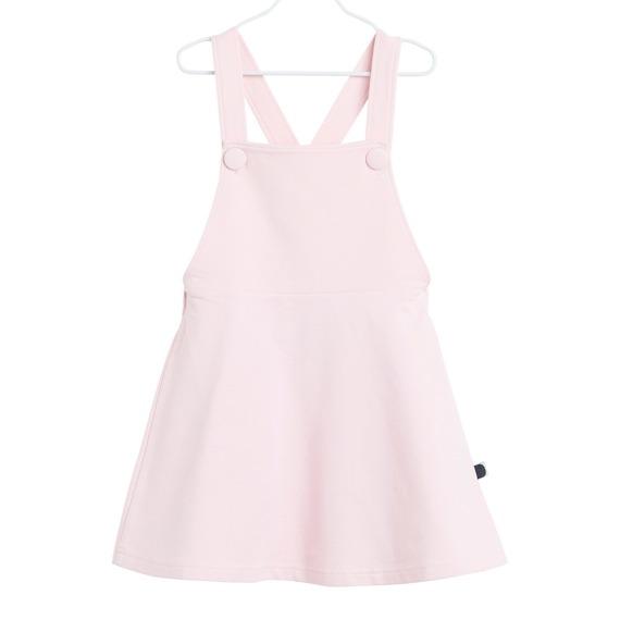 Kleid Dungas für Mädchen, Farbe Rosarot, Marke Papu, Biobaumwolle, nachhaltig hergestellt
