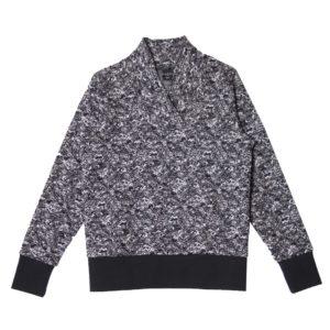 Kinder College pullover Noise, schwarz weiss, Marke Aarrekid, Biobaumwolle, nachhaltig hergestellt