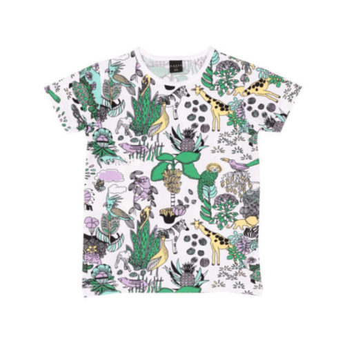 Kinder T-Shirt Pastel Rainforest, aus Biobaumwolle