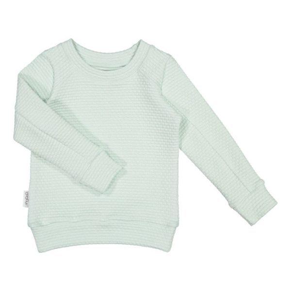 College Shirt Glow, Aqua Mint, aus Biobaumwolle von Gugguu