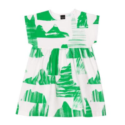 Kinderkleid Mia, Mountain Green von aarrekid