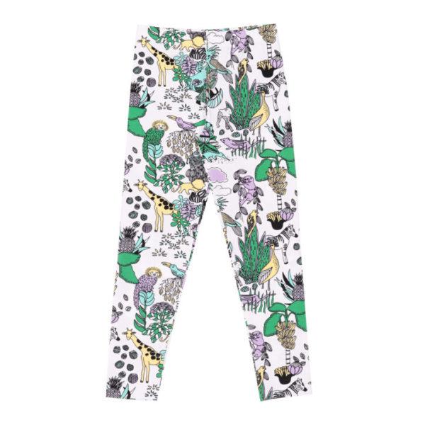 Kinder Leggings, Rainforest, aus Biobaumwolle von Aarrekid