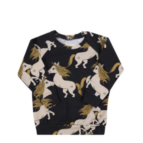 Langarmshirt black unicorn von dear sophie