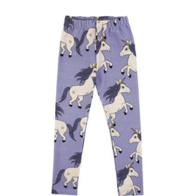 Leggings Purple unicorn aus Biobaumwolle von dear sophie