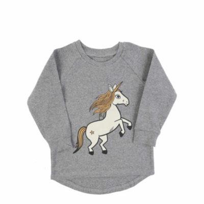 Langarmshirt unicorn aus Biobaumwolle von dear sophie