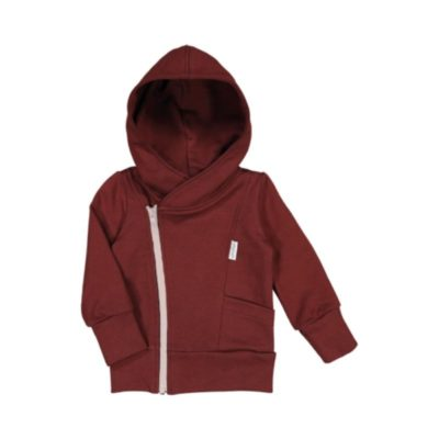 Kinder Kapuzenjacke Bark Brown von gugguu