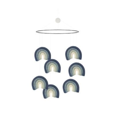 Ein Mobile mit Regenbögen für das Babyzimmer oder KInderzimmer