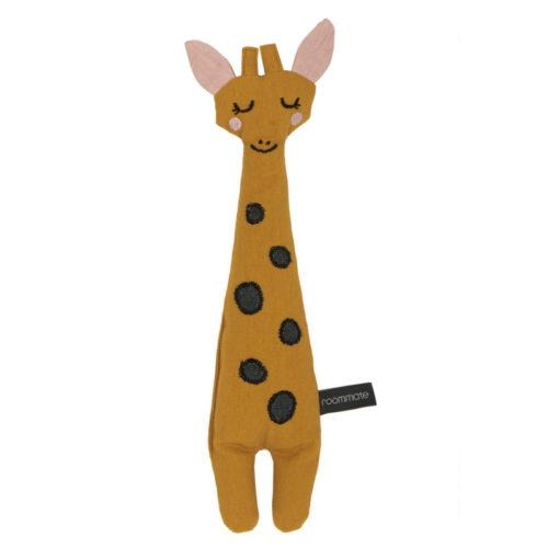 Ein Giraffe Plüschtier für Babys und Kleinkinder aus Biobaumwolle von Roommate