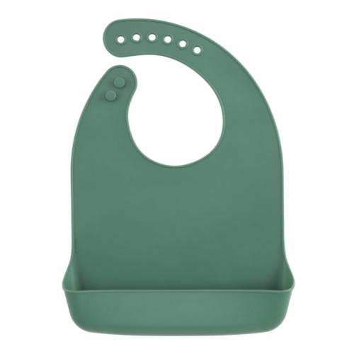 Silikon Lätzchen Moss Green