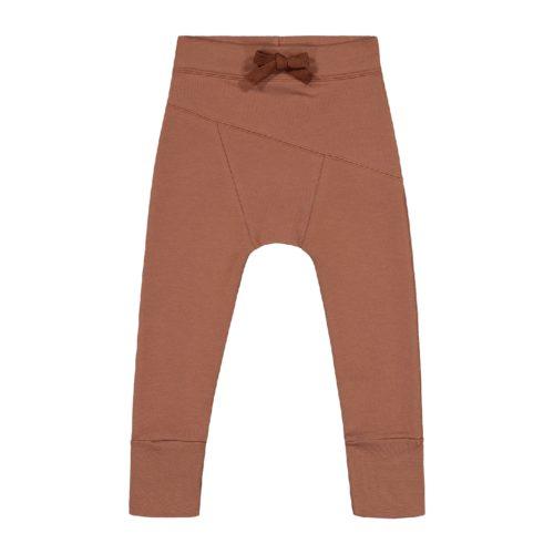 Hose Sloper Pants Caramel aus Biobaumwolle von Kaiko